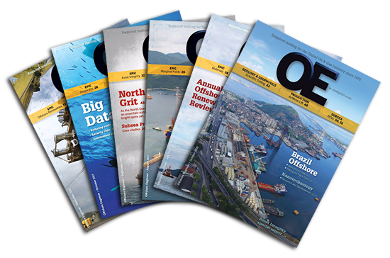OE - Offshore Engineer magazine: covers